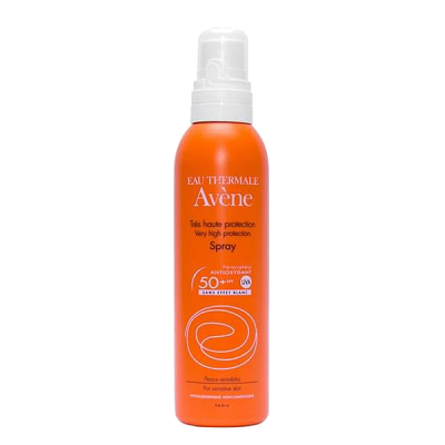 Avene Very High Protection Spray Very Water Resistant SPF 50+ - Xịt chống nắng bảo vệ da
