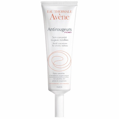 Avene Antirougeur Fort Relief Concentrate For Chronic Redness - Kem dưỡng ẩm chống đỏ da ban ngày