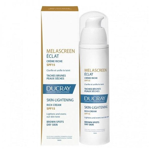 Ducray Melascreen skin lightening SPF15 - Kem sáng da, giảm tăng sắc tố da cho da nám