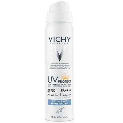 Vichy UV Protect Invisible Mist SPF50 - Xịt chống nắng