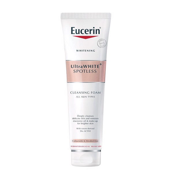 Eucerin White Therapy Clinical Gentle Cleansing Foam - Sữa rửa mặt sáng da