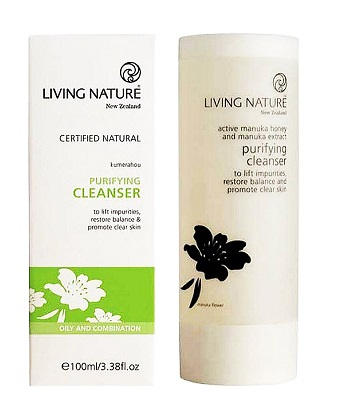 Living Nature Purifying Cleanser - Sữa rửa mặt thanh lọc